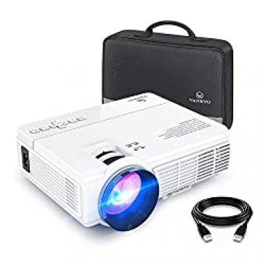 Best Mini Projector Under 100 Bucks -Great Quality Too! (dlp 1080p HD, iphone, mount)