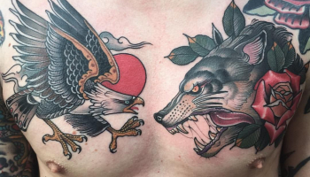 Wolf Tattoo Designs for Men